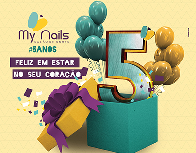 Campanha My Nails 5 anos