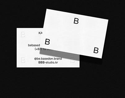 BE BASED ON BRAND. DESIGN STUDIO