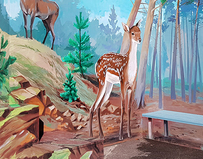 """3D stand """"Bambi"""""""