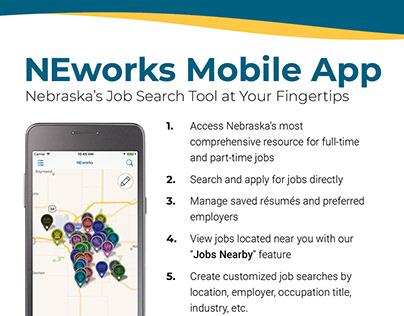 NEworks Mobile App Promotion