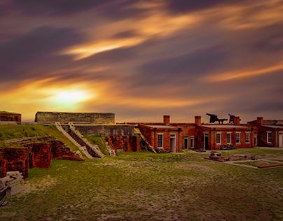 Fort Clinch, Amelia Island, FL