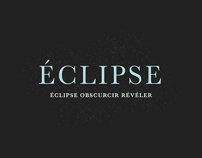 Catalogue d'exposition |Éclipse