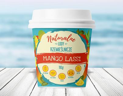 Packaging design for vegan ice cream