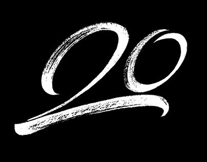 Logo per il 20° anniversario Marco Campedelli Studio