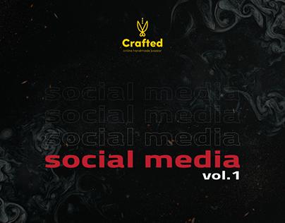 Crafted Bazzar Social Media Vol.1