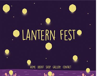 lanternfest.com website interface