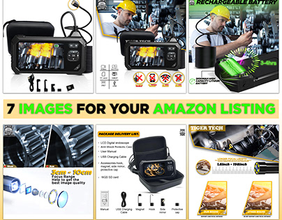 Industrial Endoscope product listing | for amazon