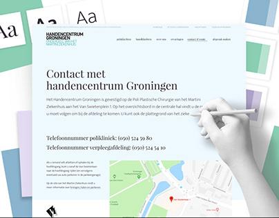 Design website Handencentrum Groningen