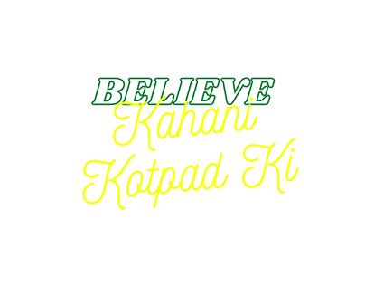 //Believe//