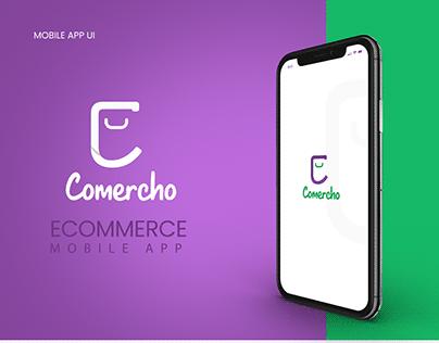 Ecommerce Mobile APP - Comercho app
