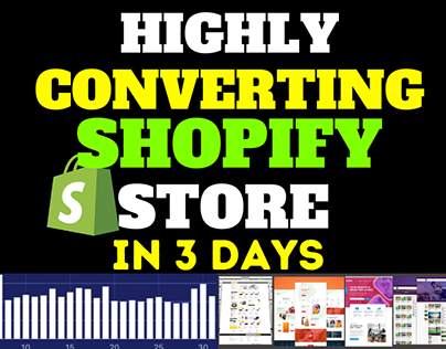 create high converting shopify store in 3 days