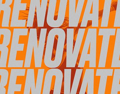 Renovate Fitness Spa | Logo & Branding