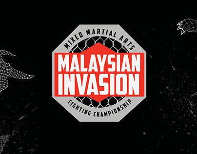 BRANDING - MALAYSIAN INVASION: MIXED MARTIAL ARTS