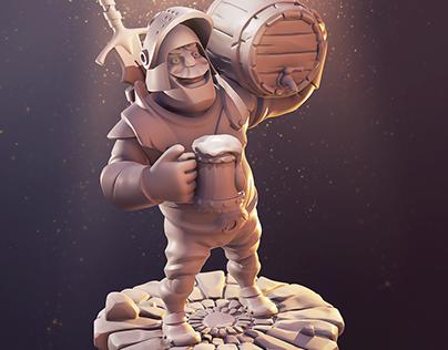 3D | Knight