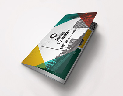 Austin Chamber Annual Report - trifold