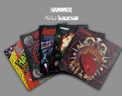 Metal Hammer Magazine Covermount CD artworks