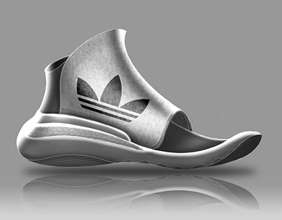 Open Toe Adidas Sneaker