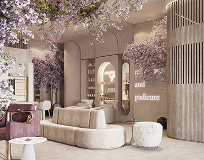 Luxury Modern Beauty Salon