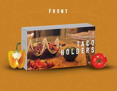 Taco Holders Packaging Design