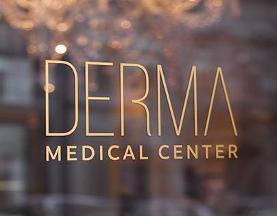 DERMA MEDICAL CENTER - Logo