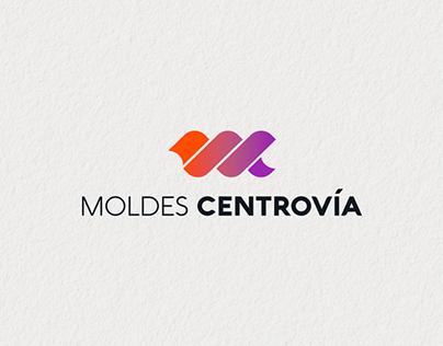 MOLDES CENTROVÍA   Branding   Logo