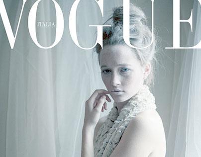 CMPA Text Project- Mock Vogue Italia Cover
