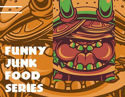 Funny Junk Food Series