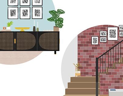 Interior Illustration!
