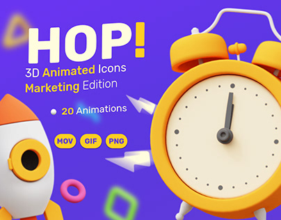 HOP! Animated Pack (Marketing Edition)
