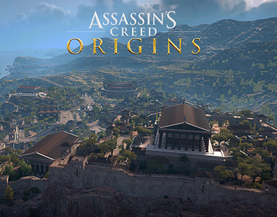 Assassin's Creed Origins - Cyrene city