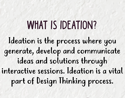 Design Thinking Infographics
