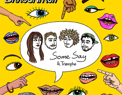 Dragonfruit - Some Say | Cover art
