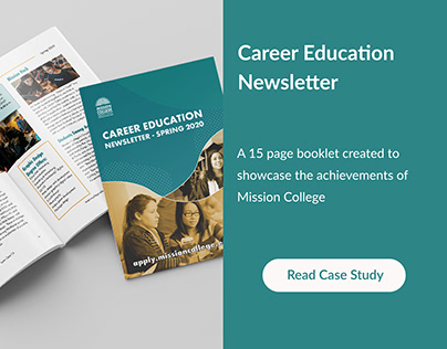 Career Education Newsletter ( Client Work )