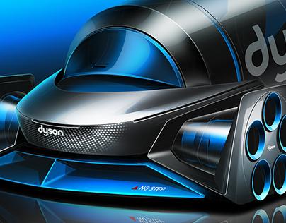 Dyson Concept Hyperloop
