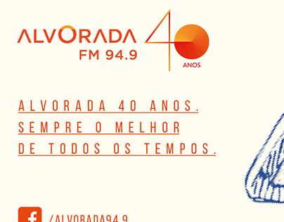 ANÚNCIO DE JORNAL RÁDIO ALVORADA