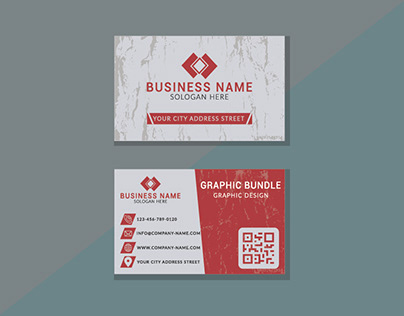 Business Card template design in adobe illustrator
