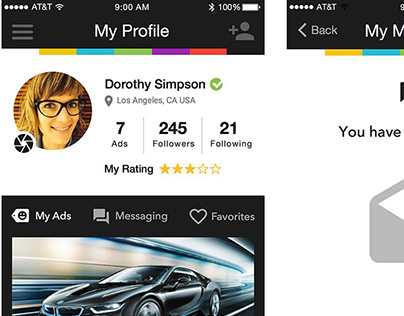 Classified Ads Mobile App