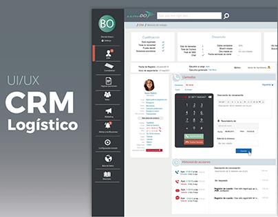 Logistics CRM | Design