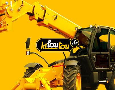 Kiloutou - Redesign Website