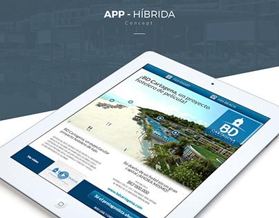 APP - Híbrida (WEB) - BD Cartagena