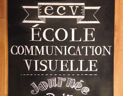 Typographie Vernaculaire (Chalk Lettering)