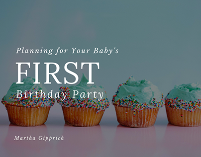 Planning for Your Baby's First Birthday Party