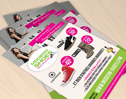 MODERN SHOES - Flyer