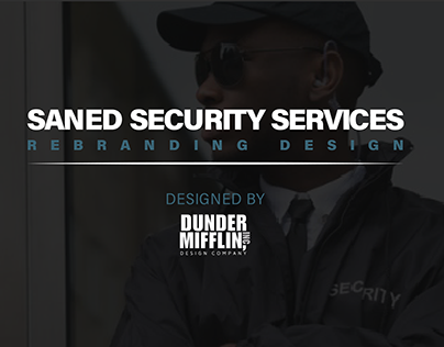 Saned Security Services Rebranding Design