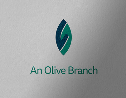 An Olive Branch brand identity