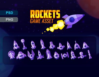Rockets Game Asset