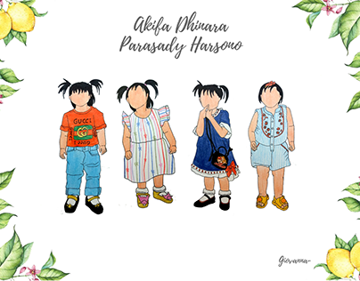 Akhifa D.P.H - Fashion Illustration