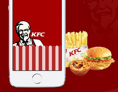 KFC iOS App Redesign Concept