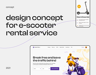 Scooterly - e-scooter rental service