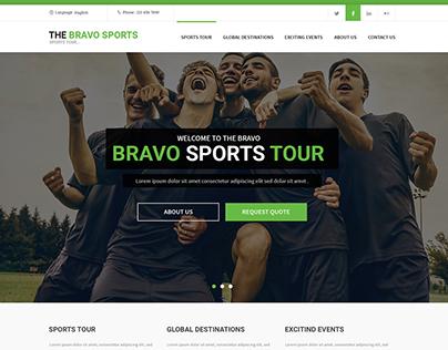 Bravosport Website Design&Development